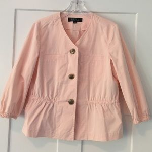 Kasper Light Pink Peplum Blazer 12